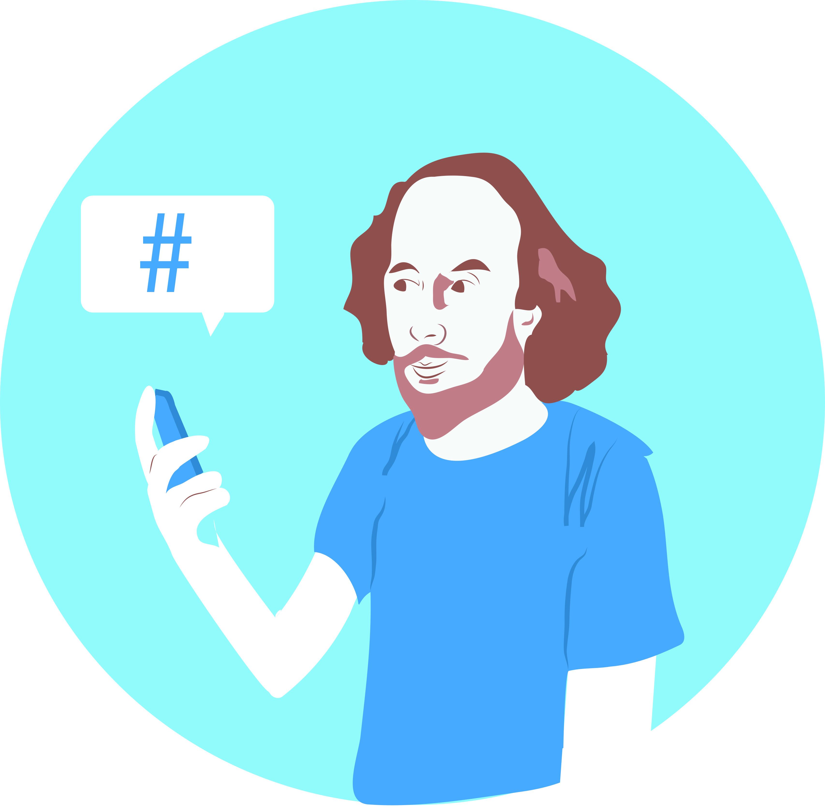 Shakespeare on Twitter: the evolution of internet-speak