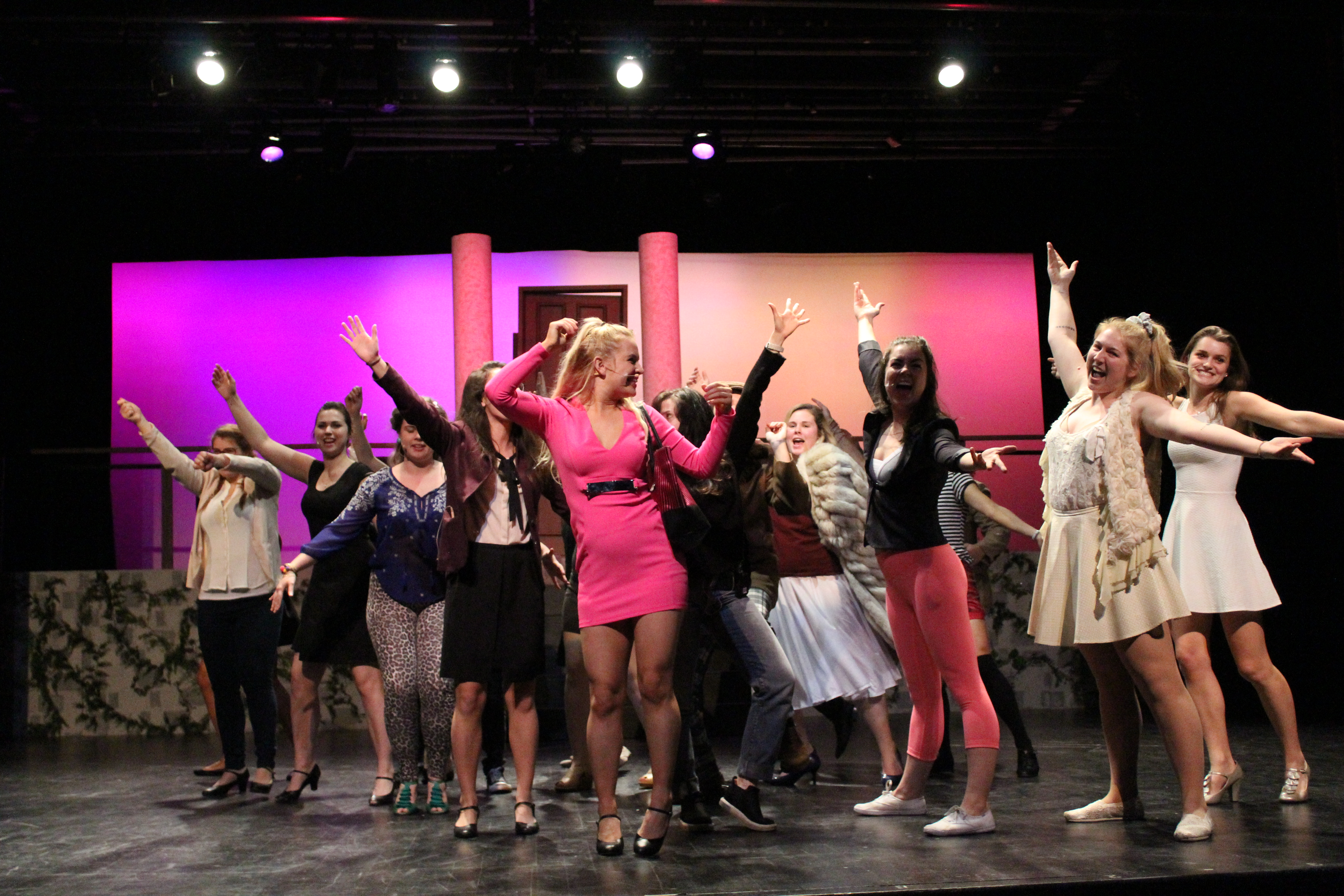 Legally Blonde brightens Hart House theatre: Director Cierra Walker and actor Olivia Lewis share their experiences working on the show
