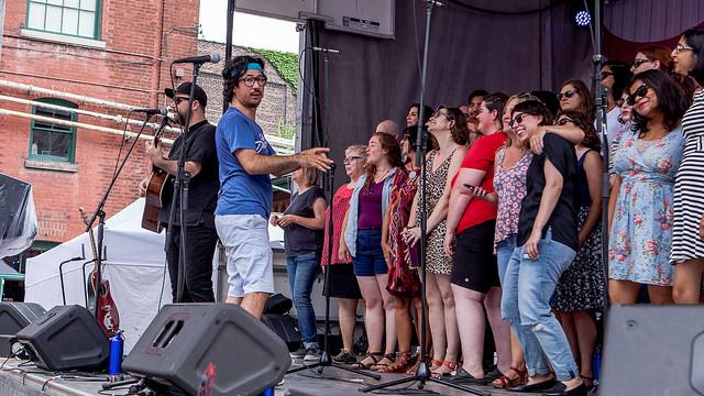 Choir! Choir! Choir! Co-Founder Nobu Adilman talks about the Toronto initiatives success