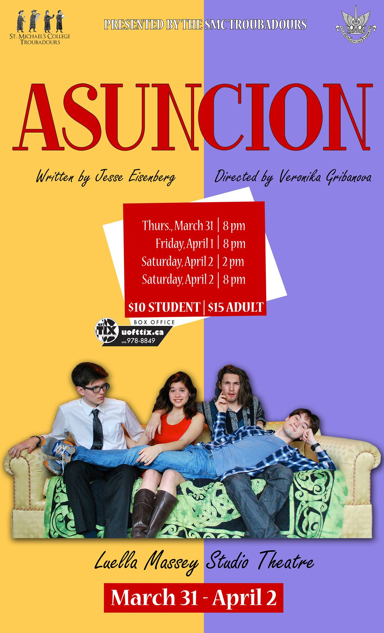 St. Mike's last show, Asuncion, runs on unapologetically sharp and borderline discomfiting satire