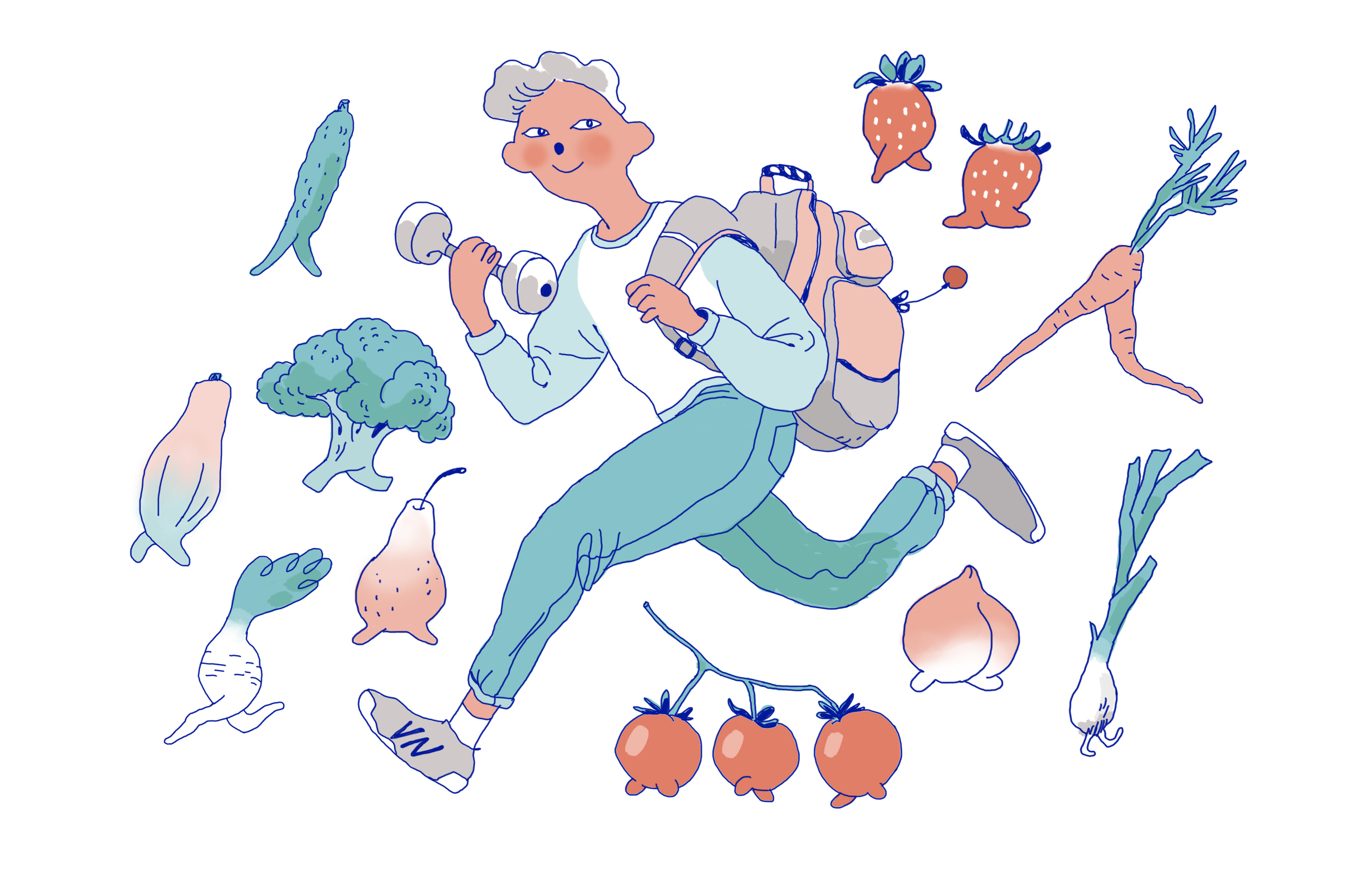 Healthier, Happier: Tips for a Fit First Year