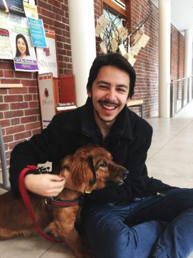 VUSAC elections 2017: Gabriel Calderon, Commuter Commissioner candidate