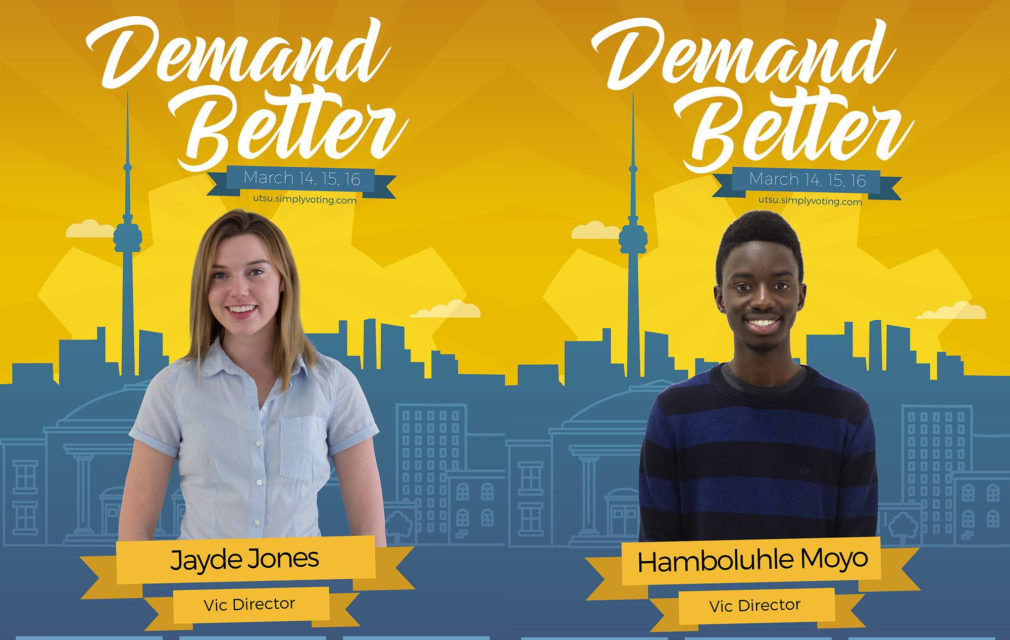 UTSU Elections 2017: Jayde Jones and Hamboluhle Moyo
