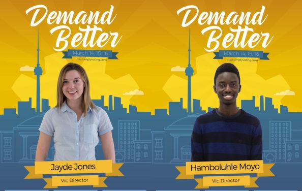 UTSU Elections 2017: Jayde Jones and Hamboluhle Moyo