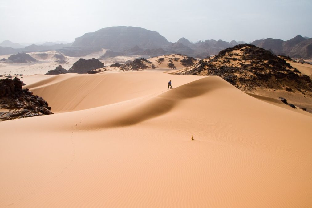 Humans may have helped create the Sahara Desert