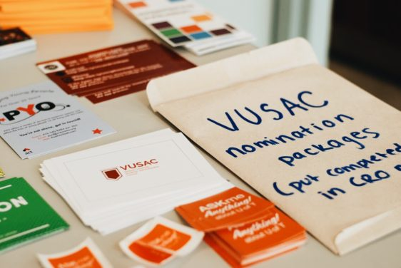 Getting involved with VUSAC