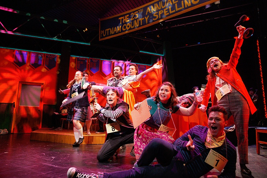 Review: Hart House Theatre's The 25th Annual Putnam County Spelling Bee