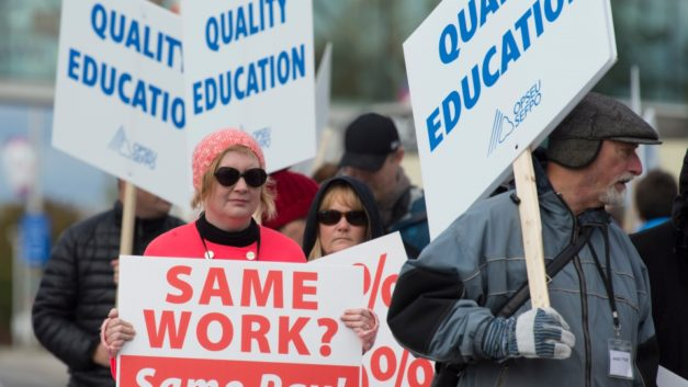 College strike continues to affect students and faculty